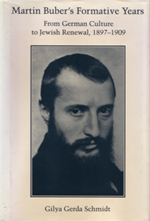 Martin Buber's Formative Years book cover